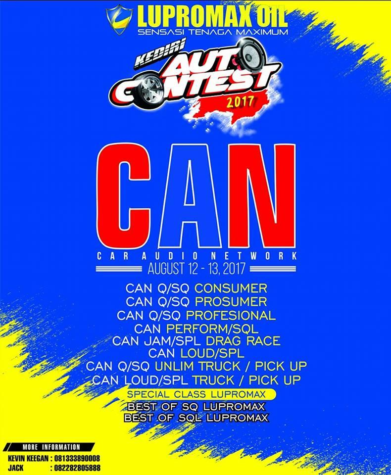 Kediri Auto Contest 2017 with CAN