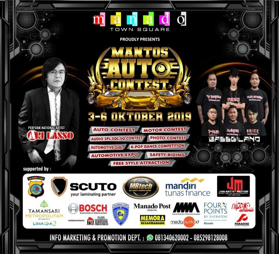 Modifikator Bersiap, Mantos Auto Contest 2019 akan Digelar 3 Oktober