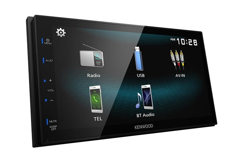 Kenwood DMX125BT, Headunit Multimedia bisa Mirroring Android