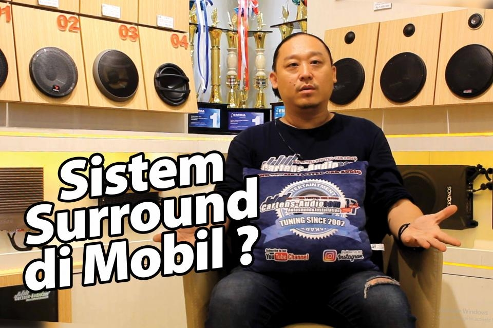 Sistem Audio Mobil Surround ala Eddie Cartens Autosound